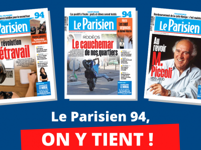 NON à la suppression des pages départementales du Parisien !